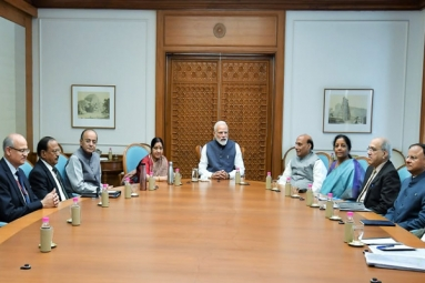 Prime Minister Narendra Modi Chairs Cabinet Committee on Security