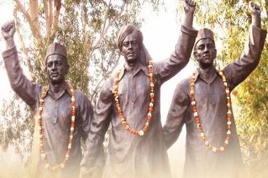 Narendra Modi pays tribute to Bhagat Singh, Rajguru, Sukhdev on Shaheed Diwas