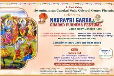 Navratri Garba & Sharad Purnima Festival - Swaminarayan Gurukul