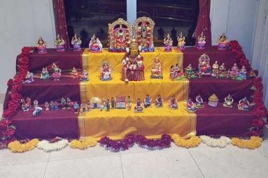 Ekta Mandir - Navratri Golu Celebrations