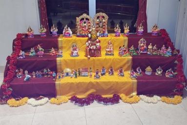 Navratri Golu: Lalita Sahasranam Chanting / Golu Display Contest