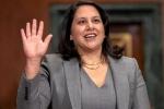 Indian American Neomi Rao, neomi rao nomination, indian american neomi rao sworn in as judge of powerful u s court, Neomi rao