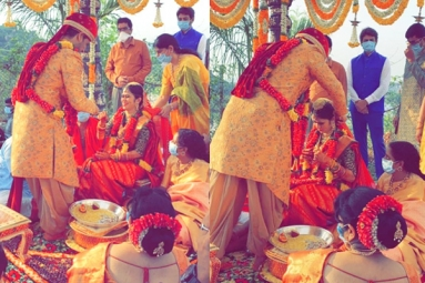 Actor Nikhil Gets Married To Pallavi Varma
