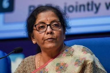Nirmala Sitharaman announced INR 1.7 lakh crore relief package during coronavirus crisis
