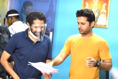 Nithiin's Rang De Resumes Shooting Today