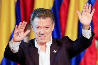 Nobel Peace Prize awarded to Colombian President Juan Manuel Santos!