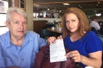 Arizona Woman discovered Note from Chinese Prison