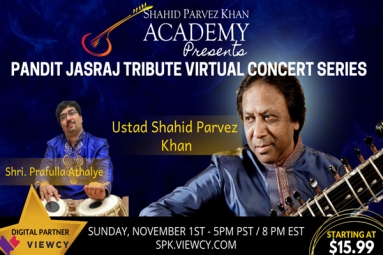 Sitar and Violin Duet - PANDIT JASRAJ TRIBUTE CONCERT SERIES