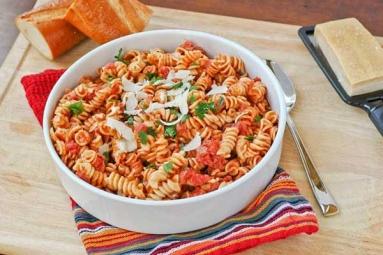 Pasta in Tomato Sauce Recipe