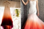 fashion trends, period stain wedding dress, bride slammed for dressing in period stain wedding attire that looked like a stained tampon, Clothing