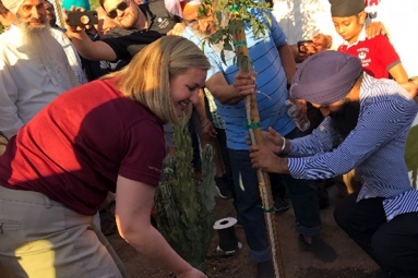 Sikh Community Donate 550 Trees To The Pheonix Neighborhoods In Arizona