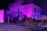 Phoenix Town-House Fire Injures A Man