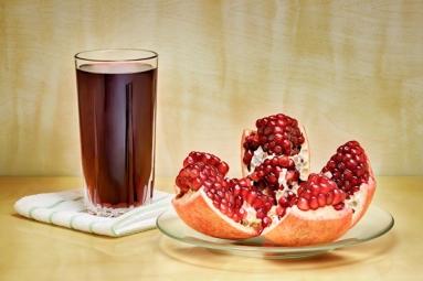 Pomegranate Juice Helps in Unborn Babies' Brain Development