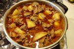 Potato recipes, Mutton recipes, delicious potato mutton curry recipe, Indian food