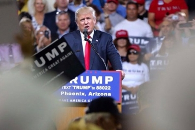 President to hold a rally at phoenix convention center