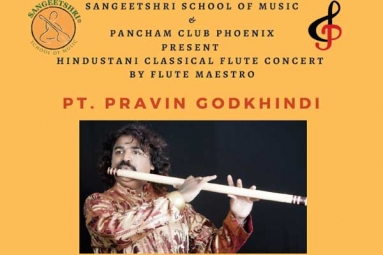 Hindustani Classical Music Concert by Flute Maestro Pt. Pravin Godkhindi