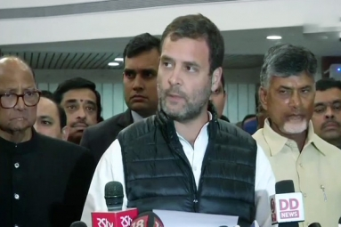 Rahul Gandhi: We Stand By Armed Forces in These Difficult Times