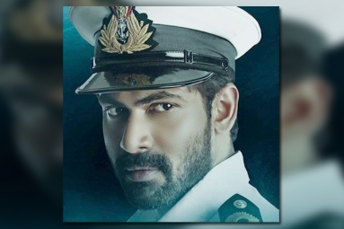 Rana's First Look from Ghazi as Naval Officer