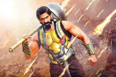 Rana's Look from Baahubali: The Conclusion