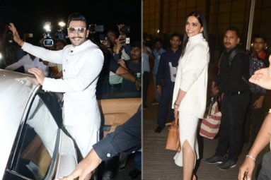 Ranveer, Deepika flies to Italy