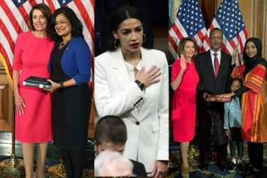 Record 102 Women Sworn into U.S. House of Representatives