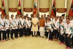 Narendra Modi, Brazil Olympics Indian athletes, modi meets rio olympics bound athletes, Anil kumble