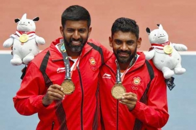 Asian Games 2018: Rohan Bopanna, Divij Sharan Clinch Men's Doubles Gold in Tennis