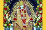 Sai Baba's big Moorthi Prathista Celebrations
