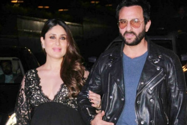 Saif and Kareena turn proud parents