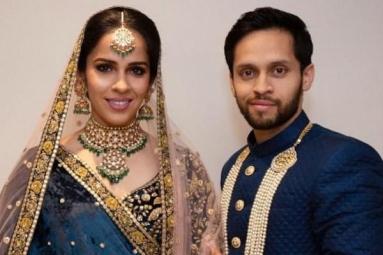 Parupalli Kashyap, Saina Nehwal Hosts a Grand Reception