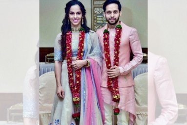 Saina Nehwal, Parupalli Kashyap Gets Married in Private Ceremony