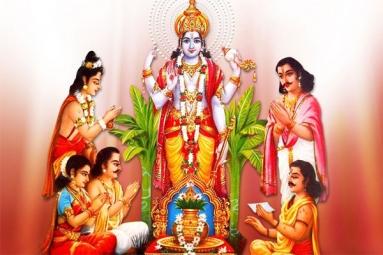 Sri Satyanarayana Pooja on Pournami - SVK Temple