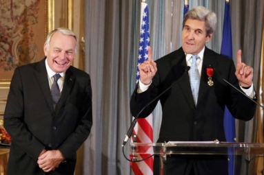 Secretary of State John Kerry given France's highest honor