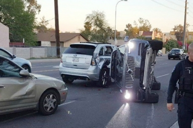 Self-Driving Uber Vehicle Involved In Crash