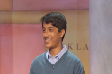 Indian-American boy wins $100,000 in top US quiz show!