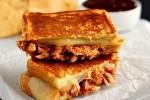 Shredded Chicken Cheese Sandwich Recipe