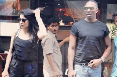 Shriya Spotted on a date