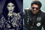 Shruti Haasan in Talks for Prabhas' Salaar?
