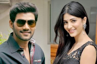 Shruti Haasan to romance Sreenivas