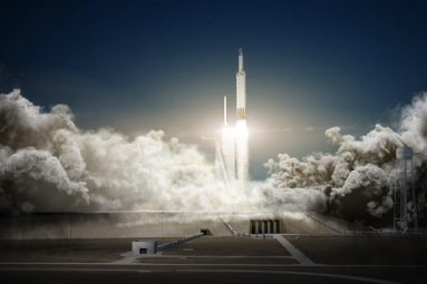 SpaceX successfully launched a communications satellite