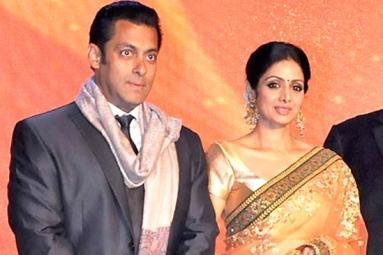 Sridevi to work with Salman Khan
