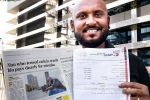 Dubai, Abdul Wahab story, indian origin stranded restaurateur in dubai whose shelter was a car for 3 months to head home finally, Gulf news report