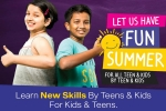 "A Unique ""Summer Fun & Learning Activities"" for Kids & Youth By Teens – an Initiative by Youth Empowerment Forum (YEF)"