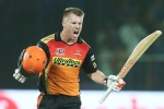 SRH vs KKR, Sunrisers Hyderabad, warner s century sets big win for srh, Kolkata knight riders