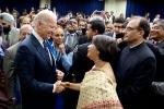 AAPI communities, joe biden with Indian Americans, indian americans likely to support joe biden in democratic primary, Tulsi gabbard
