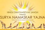 Surya Namaskar Yagna - HSS US