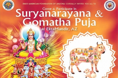 Suryanarayana and Gomatha Puja