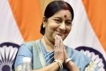 sushma swaraj daughter, sushma swaraj election 2019, sushma swaraj death tributes pour in for people s minister, Indian politics