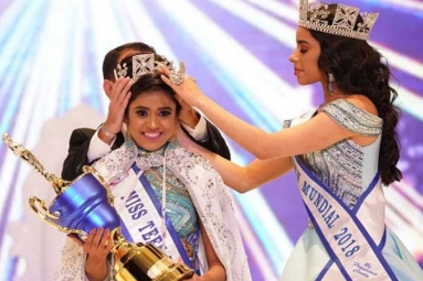 Indian Girl Sushmita Singh Wins Miss Teen World 2019