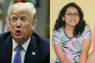 Teen Girl from India Trolls Trump for His Tweet on Global Warming
